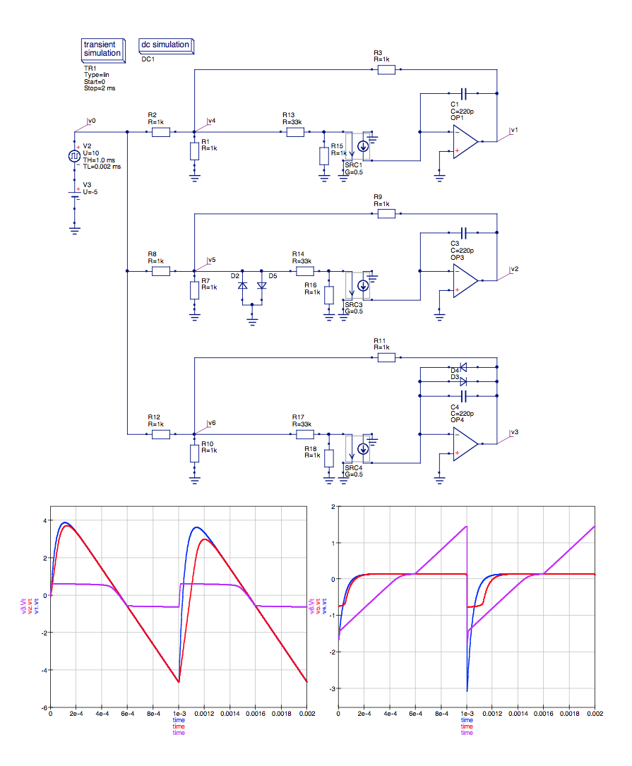 Full Text Of Synth Diy Mailing List For The Falstad Circuit Simulation Ctrlclick Light Chaser